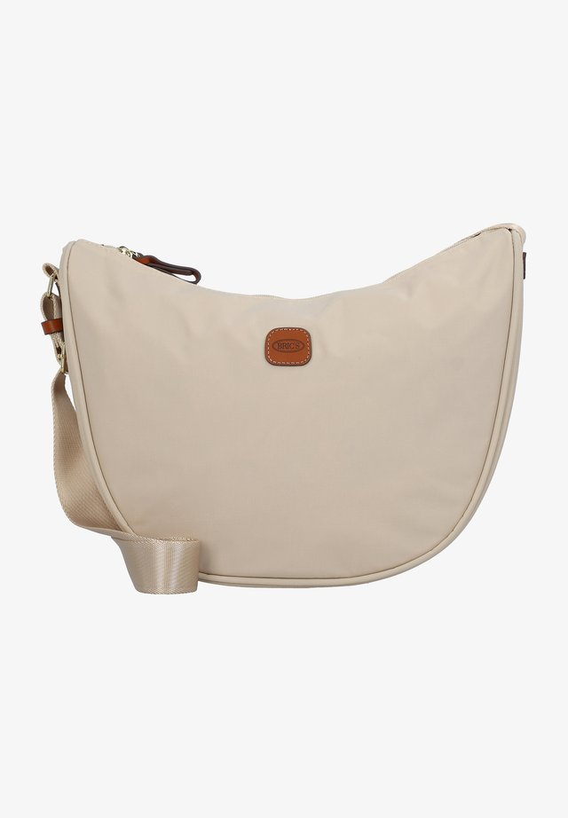 Across body bag - beige-leather