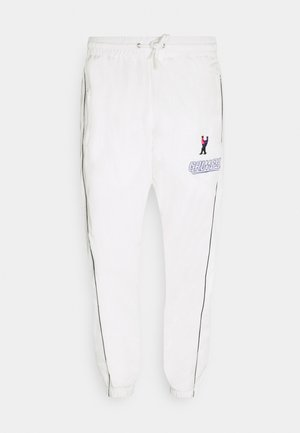 UBIQUITY TRACK PANTS UNISEX - Tracksuit bottoms - white