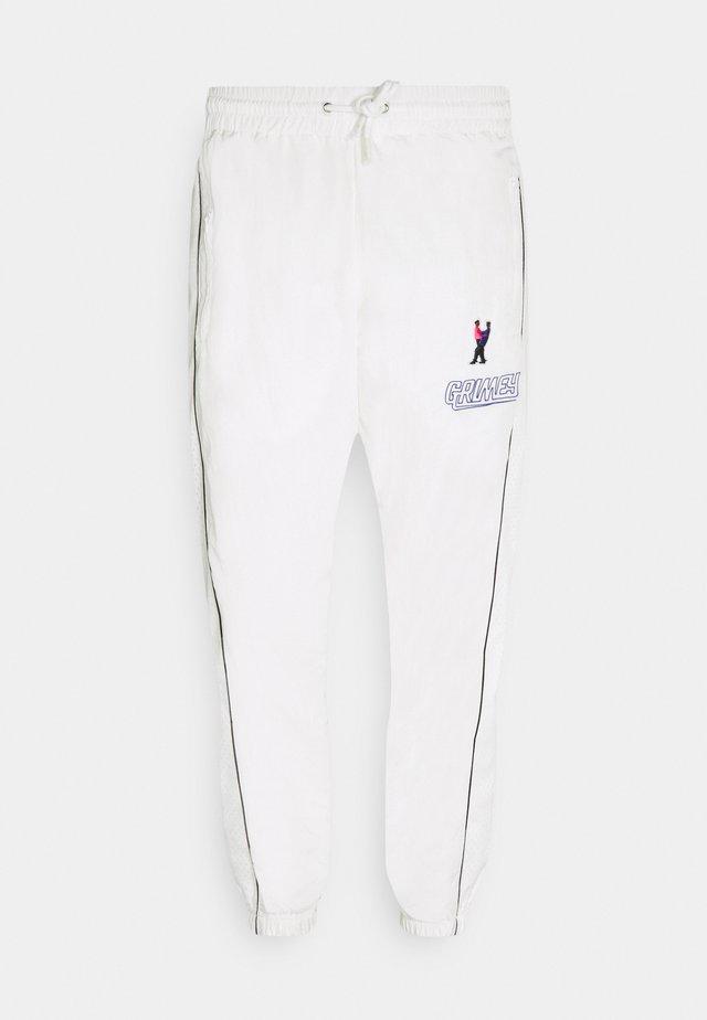 UBIQUITY TRACK PANTS UNISEX - Trainingsbroek - white