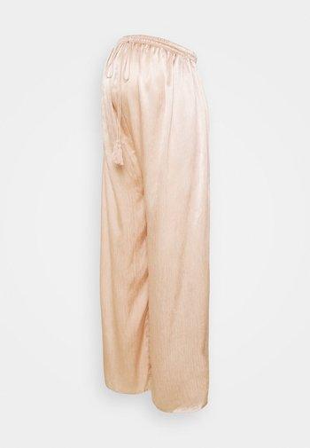 WIDE LEG TROUSERS MATERNITY - Bukse - sand