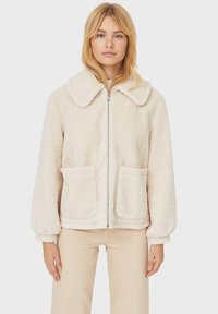 Stradivarius - Fleece jacket - white - 0