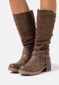Refresh - Boots - taupe - 0