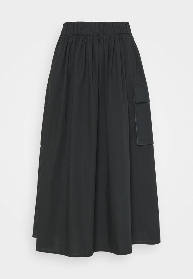 MILLER - A-line skirt - black