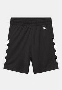 Hummel - CORE POLY UNISEX - Sports shorts - black - 0