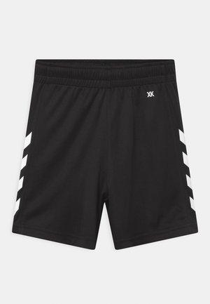 CORE POLY UNISEX - Sports shorts - black