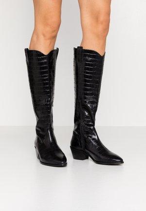 KOUNTRY - Cowboy/Biker boots - black