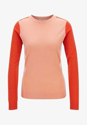 FARA - Sweatshirt - mottled orange