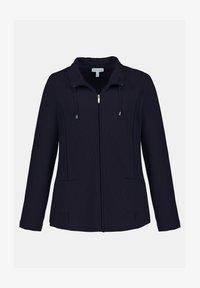 GINA LAURA - Zip-up hoodie - dunkel marine - 3