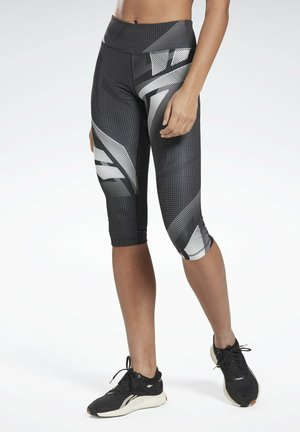 WORKOUT READY CAPRI 3/4 LEGGINGS - Trikoot - black