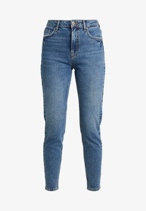 PCLEAH MOM - Relaxed fit jeans - medium blue denim