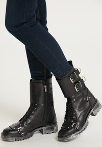 myMo ROCKS - Cowboy/biker ankle boot - schwarz - 1