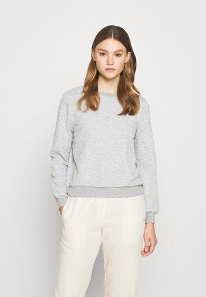 ONLKIMBERLY JOYCE O NECK - Sweatshirt - light grey melange