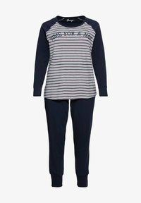 Sheego - Pyjama set - marine gestreift - 4