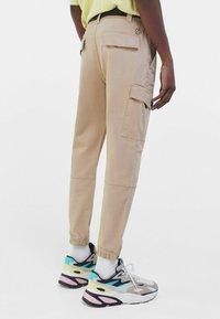 Bershka - Cargo trousers - camel - 2