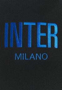 Nike Performance - INTER MAILAND HOODIE - Sweatshirt - black/blue spark/truly gold - 2