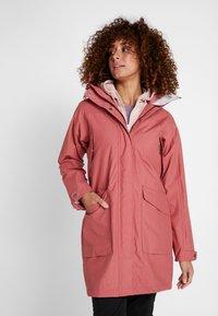 Didriksons - AGNES WOMENS COAT - Parka - pink blush - 0