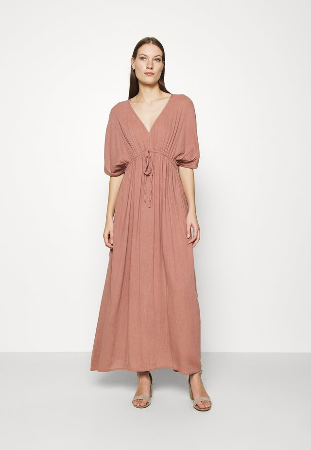 LONG DRESS - Maxi dress - wood rose