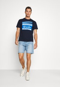 Benetton - CANNES - Triko s potiskem - dark blue - 1