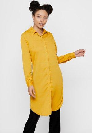 Shirt dress - yellow