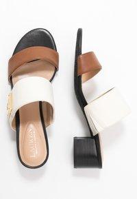 Lauren Ralph Lauren - Pantofle - beige/brown - 3