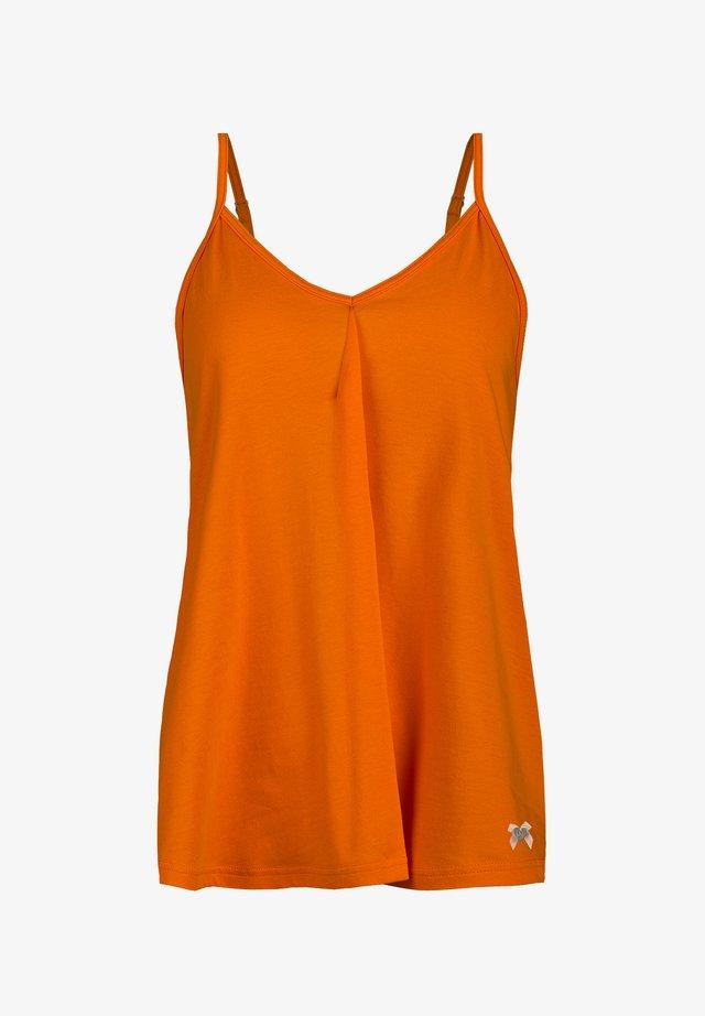 Pyjamashirt - orange