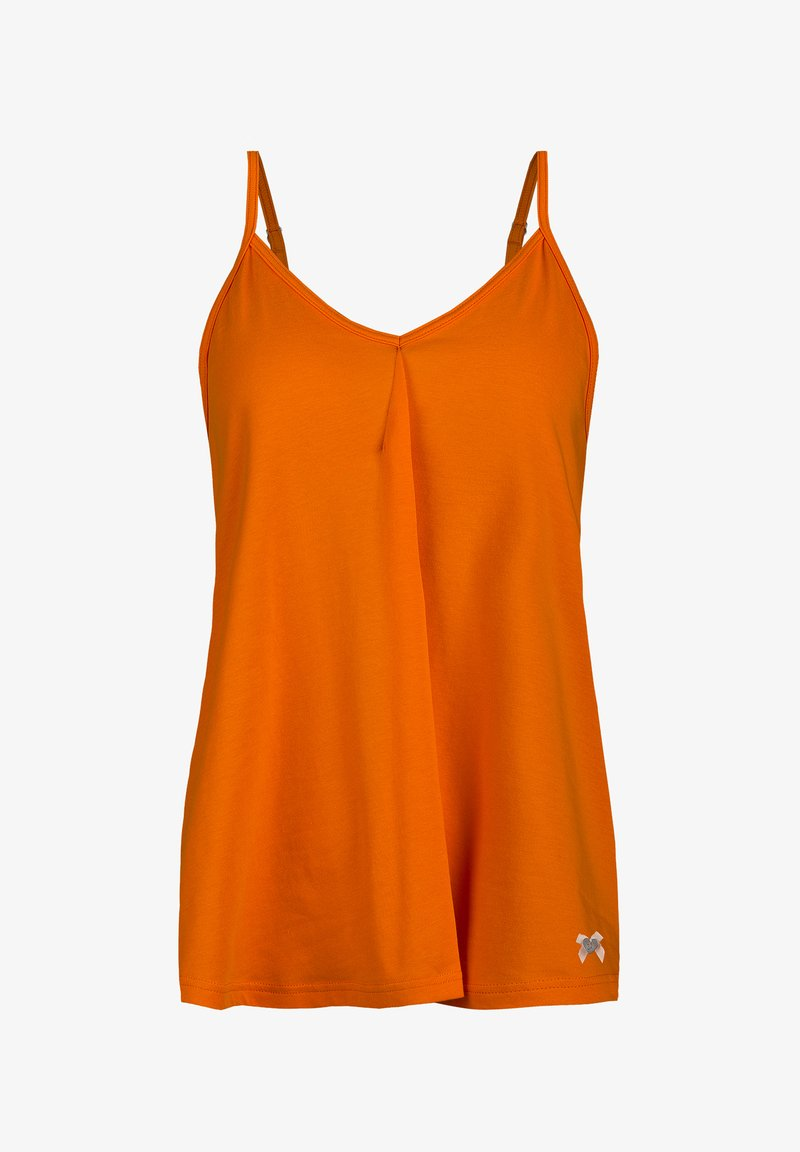 Short Stories - Pyjamashirt - orange