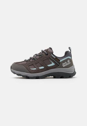 VOJO 3 TEXAPORE LOW  - Hiking shoes - tarmac grey/light blue