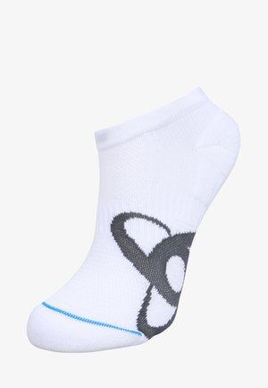 SOCKS SHORT RUNNING LOW CUT              - Socquettes - white