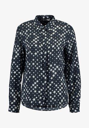 KIZAXO - Skjortebluser - black/white