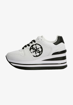 HEKTOR 4G LOGO - Baskets basses - mehrfarbig/weiß
