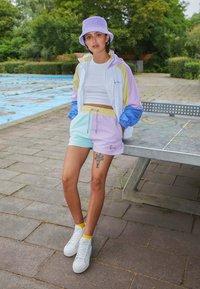 Karl Kani - SIGNATURE BLOCK - Shorts - mint - 1