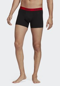 adidas Performance - BRIEFS 3 PAIRS - Pants - red - 0