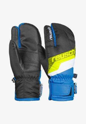 Gloves - black / brilliant blue