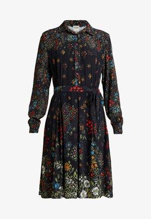 PRINTED DRESS - Skjortekjole - black