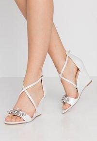 Wallis - SIENNA - High heeled sandals - white - 0