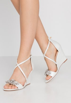 SIENNA - High heeled sandals - white