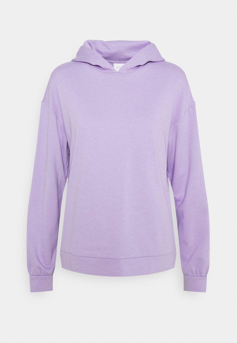 Vila - VIRUST HOODIE - Hoodie - lavender