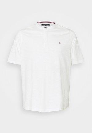 SLUB HENLEY - Basic T-shirt - ecru