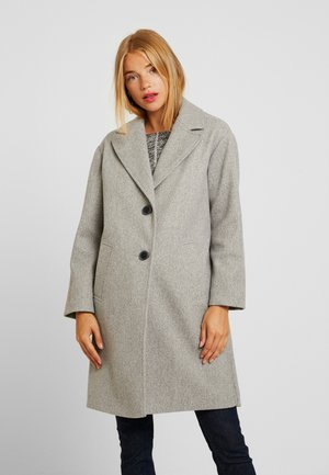 RELAXED UNLINED - Classic coat - grey marl