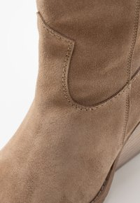 Lazamani - High heeled ankle boots - taupe - 2