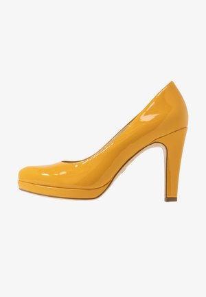 DA.-PUMPS - High heels - saffron