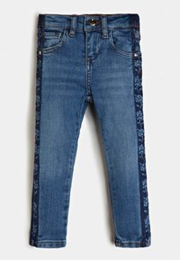 Guess - LOGOSTREIFEN - Jeans Skinny Fit - blau - 2