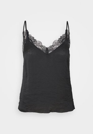 CAMELIA - Pyjama top - black