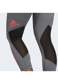 adidas Performance - ALPHASKIN 7/8 LEGGINGS - Medias - grey - 4