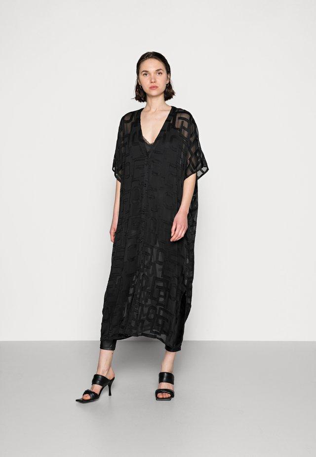 DRESS JOONA KAFTAN - Day dress - black