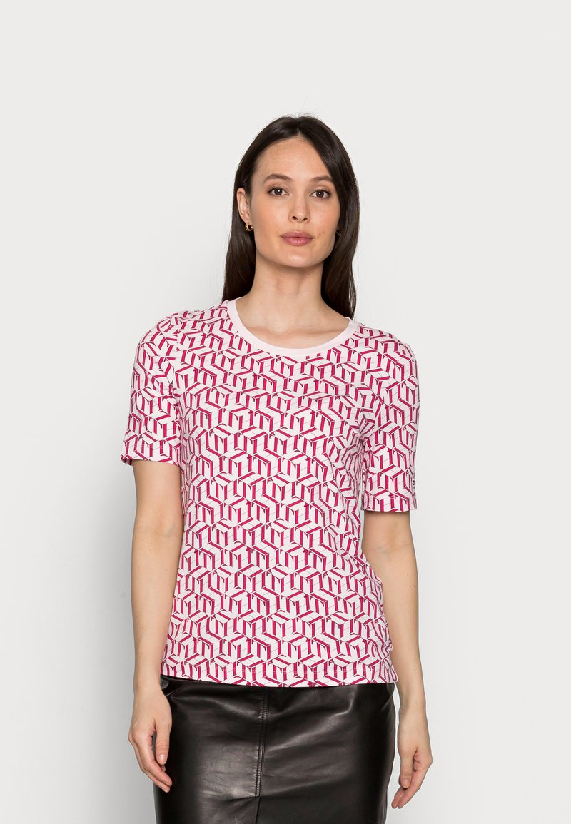 Tommy Hilfiger - REGULAR PRINTED - Print T-shirt - pink