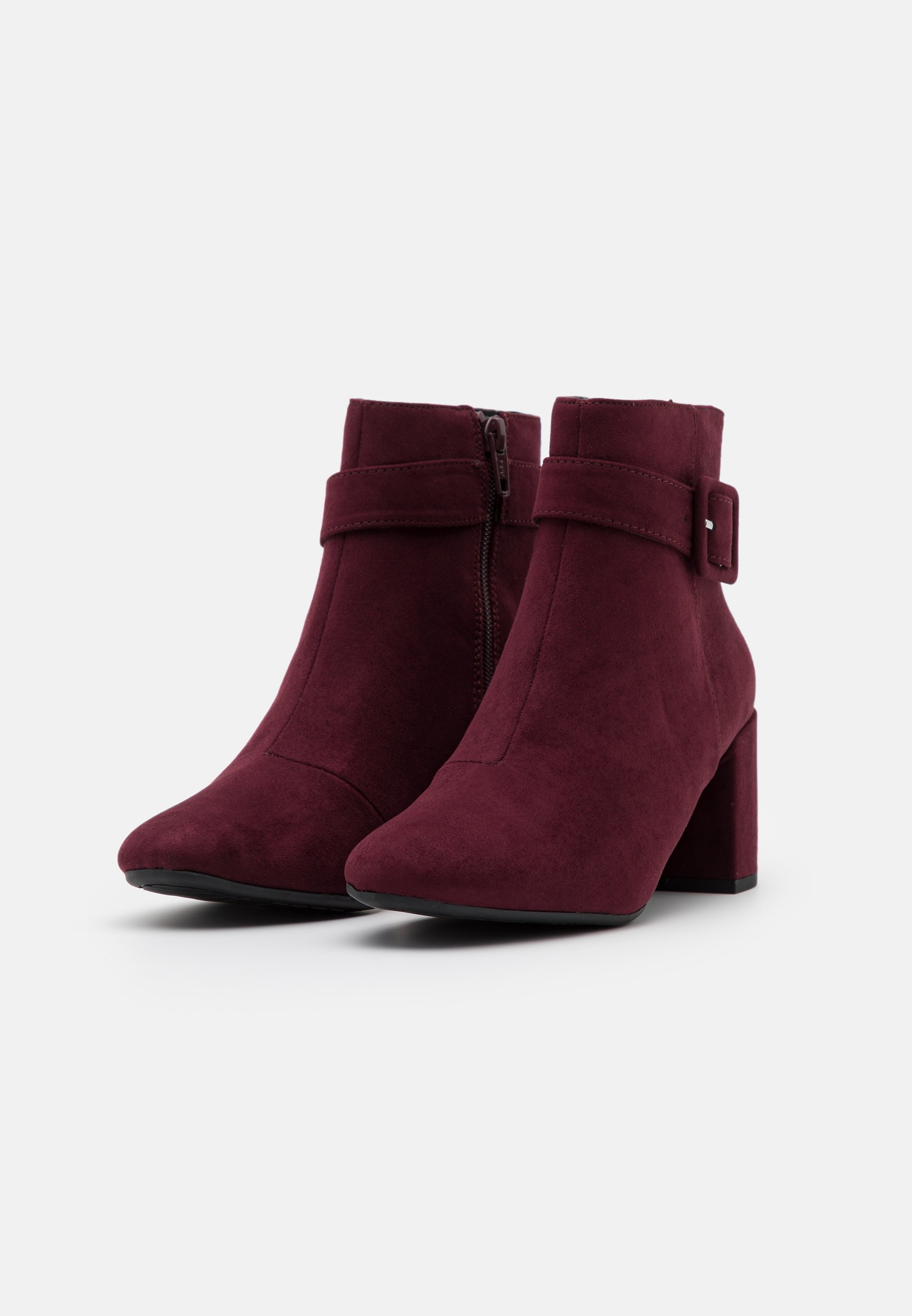 Dorothy Perkins Andi Covered Buckle - Ankle Boot Oxblood/bordeaux