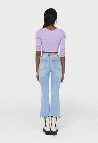 Stradivarius - Slim fit jeans - light blue - 2