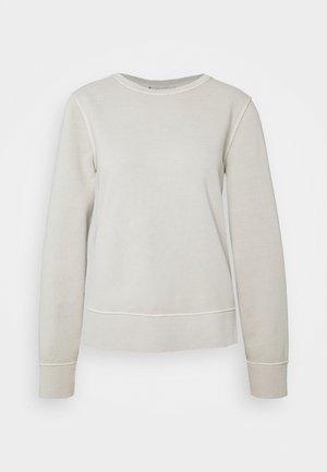VALERA SLIM ROUND - Sweatshirt - beige