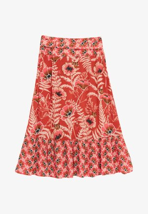 A-line skirt - pink mehrfarbig